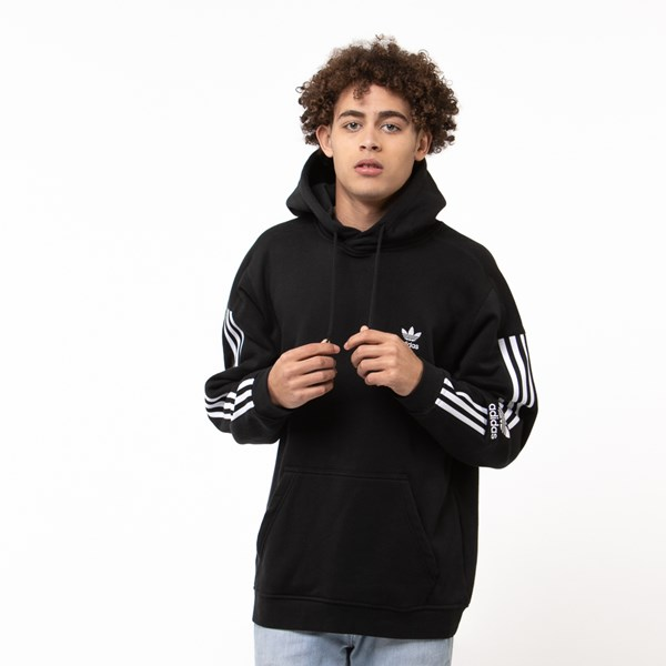Mens adidas Lock Up Hoodie - Black