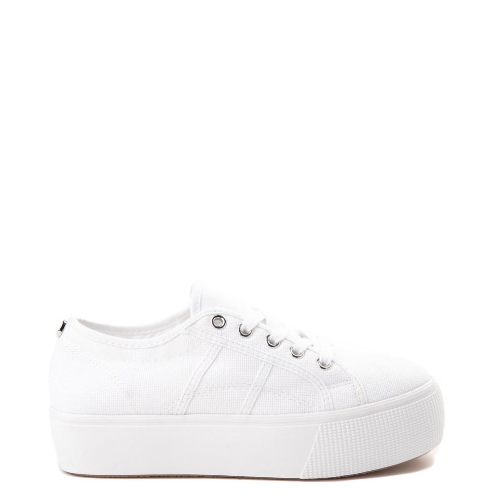 Womens Steve Madden Emmi Platform Casual Shoe - White