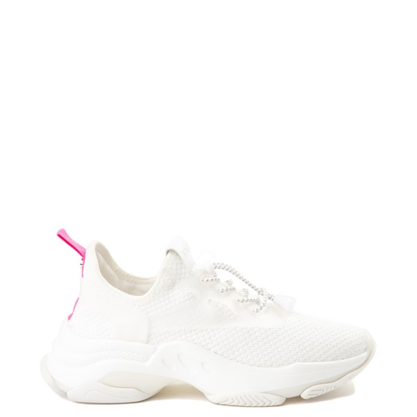 Womens Steve Madden Myles Athletic Shoe - White