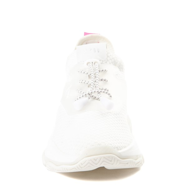 alternate view Womens Steve Madden Myles Athletic Shoe - WhiteALT4