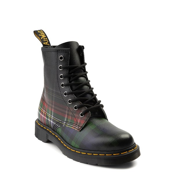 Alternate view of Dr. Martens 1460 8-Eye Tartan Boot