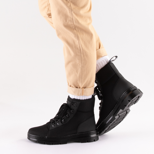 alternate view Womens Dr. Martens Combs Boot - BlackB-LIFESTYLE1