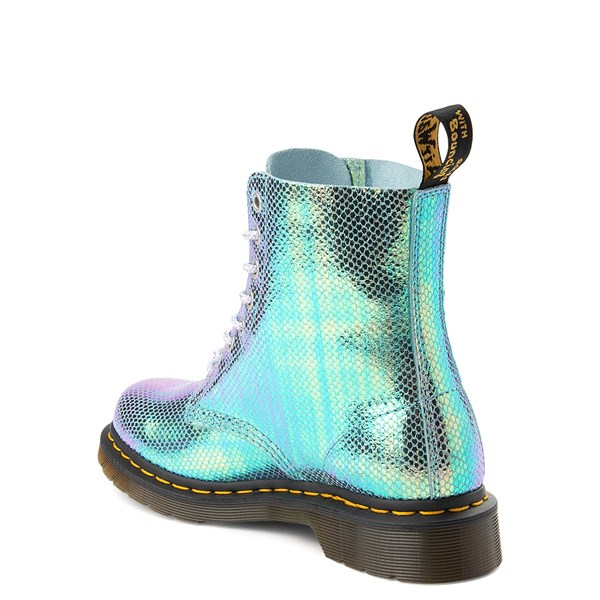 alternate view Womens Dr. Martens Pascal 8-Eye Duo Chrome BootALT2