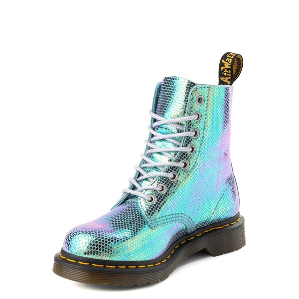 alternate view Womens Dr. Martens Pascal 8-Eye Duo Chrome BootALT3
