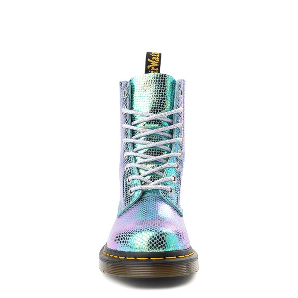 alternate view Womens Dr. Martens Pascal 8-Eye Duo Chrome BootALT4