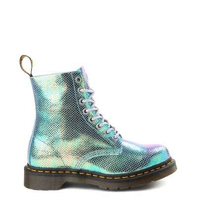 Main view of Womens Dr. Martens Pascal 8-Eye Vegan Duo Chrome Boot