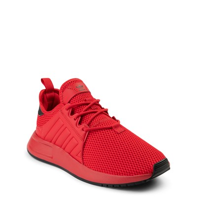 Alternate view of adidas X_PLR Athletic Shoe - Big Kid - Scarlet
