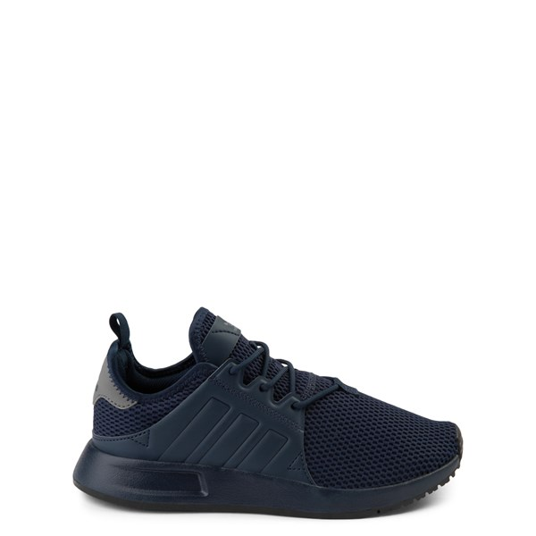 Main view of adidas X_PLR Athletic Shoe - Big Kid - Navy Monochrome