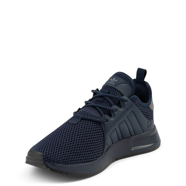 alternate view adidas X_PLR Athletic Shoe - Big Kid - Navy MonochromeALT3