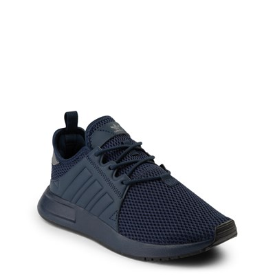 Alternate view of adidas X_PLR Athletic Shoe - Big Kid - Navy Monochrome