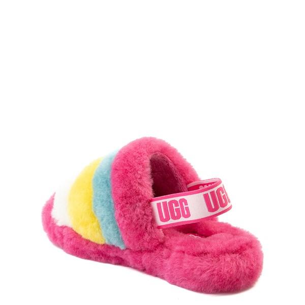 alternate view UGG® Fluff Yeah Slide Sandal - Little Kid / Big KidALT2