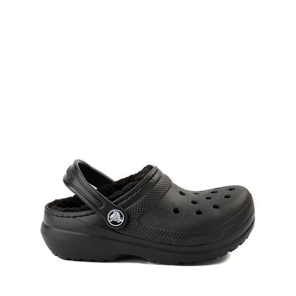 Crocs Classic Fuzz-Lined Clog - Baby / Toddler / Little Kid - Black