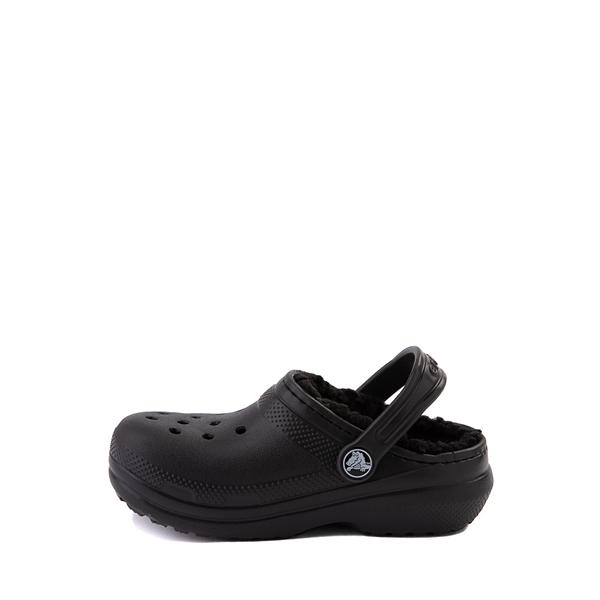 alternate view Crocs Classic Fuzz-Lined Clog - Baby / Toddler / Little Kid - BlackALT1
