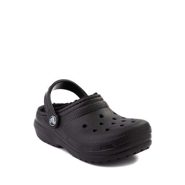 alternate view Crocs Classic Fuzz-Lined Clog - Baby / Toddler / Little Kid - BlackALT5