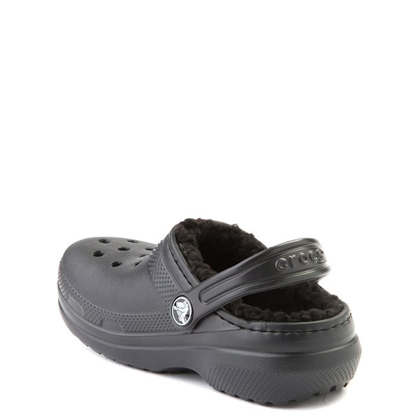 alternate view Crocs Classic Fuzz-Lined Clog - Baby / Toddler / Little KidALT2