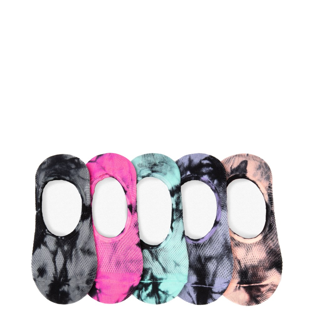 Mesh Tie Dye Liners 5 Pack - Girls Toddler
