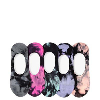 Main view of Mesh Tie Dye Liners 5 Pack - Big Kid