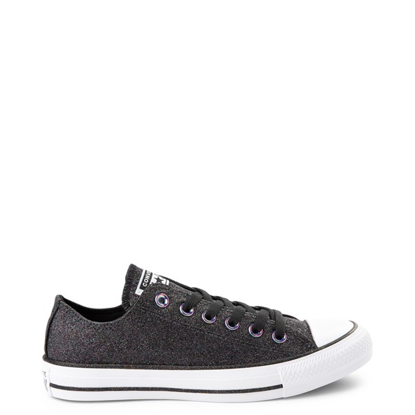 Main view of Converse Chuck Taylor All Star Lo Glitter Sneaker - Black