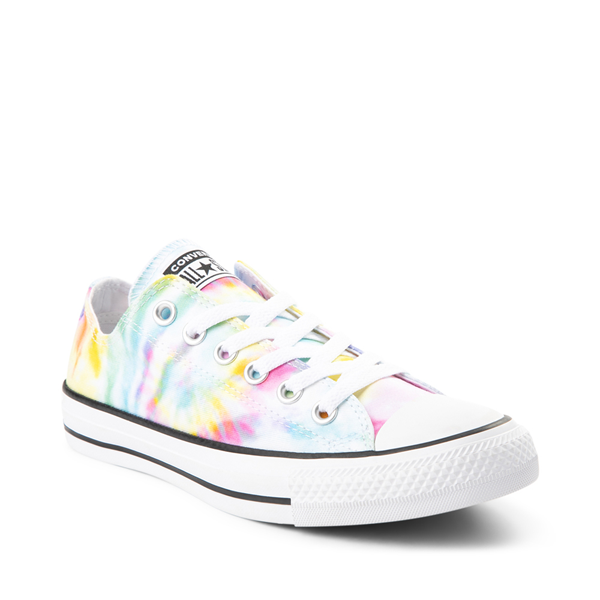 alternate view Womens Converse Chuck Taylor All Star Lo Sneaker - Tie DyeALT5