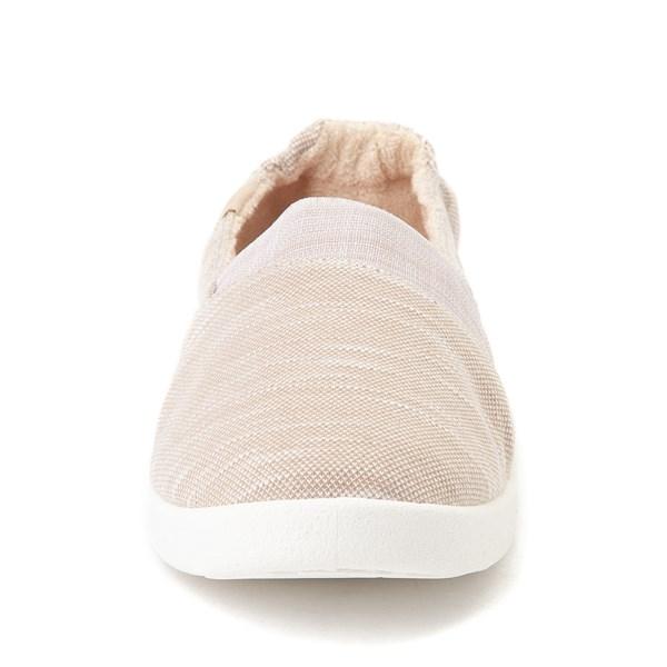 alternate view Womens Roxy Danaris Slip On Casual ShoeALT4