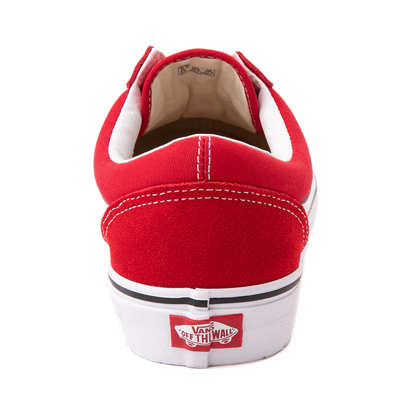 alternate view Vans Old Skool Skate Shoe - Racing RedALT4