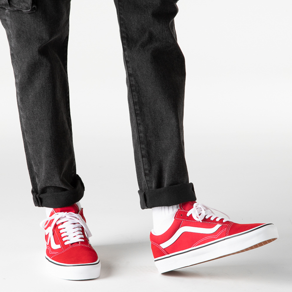 alternate view Vans Old Skool Skate Shoe - Racing RedB-LIFESTYLE1