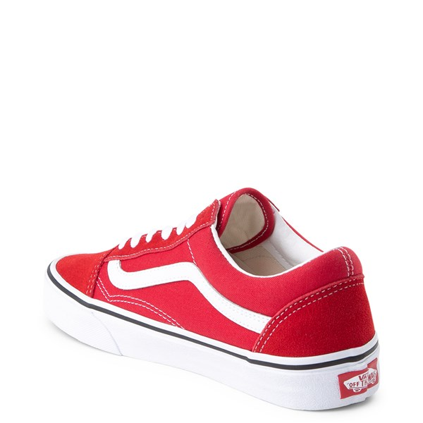 alternate view Vans Old Skool Skate Shoe - Racing RedALT2