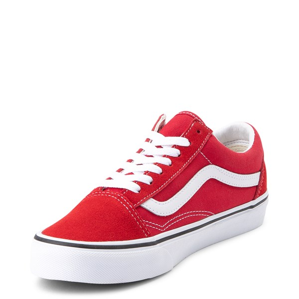 alternate view Vans Old Skool Skate Shoe - Racing RedALT3