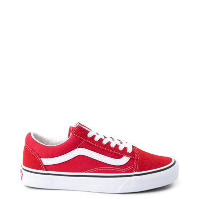 Main view of Vans Old Skool Skate Shoe - Racing Red