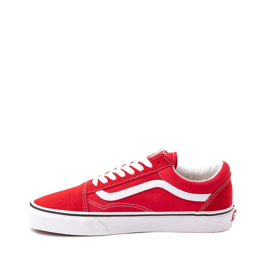 Vans Old Skool Skate Shoe - Racing Red