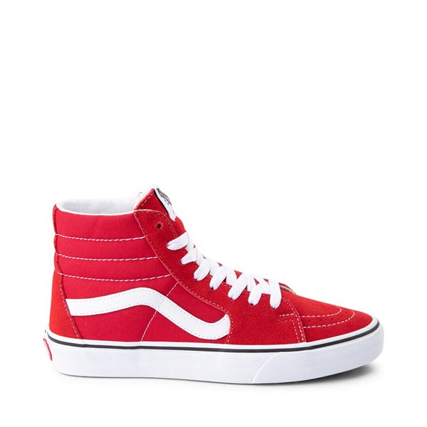 Vans Sk8 Hi Skate Shoe - Racing Red