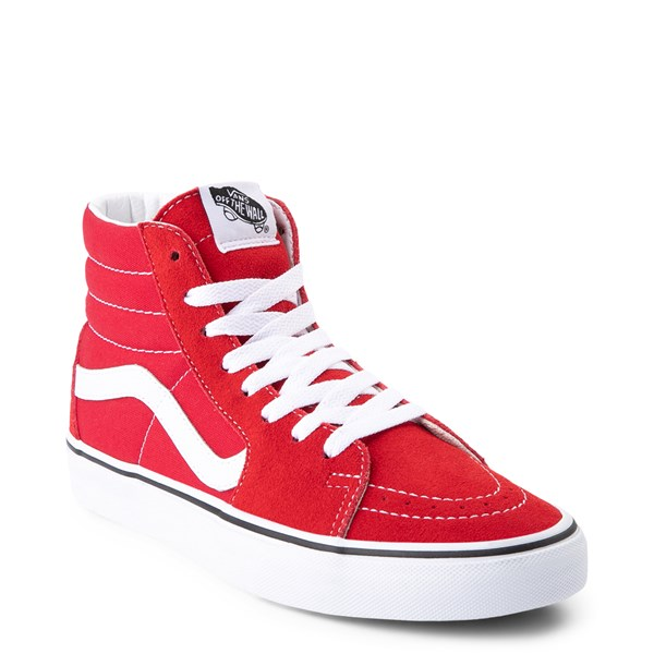 alternate view Vans Sk8 Hi Skate Shoe - Racing RedALT1