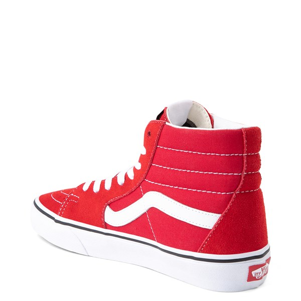 alternate view Vans Sk8 Hi Skate Shoe - Racing RedALT2