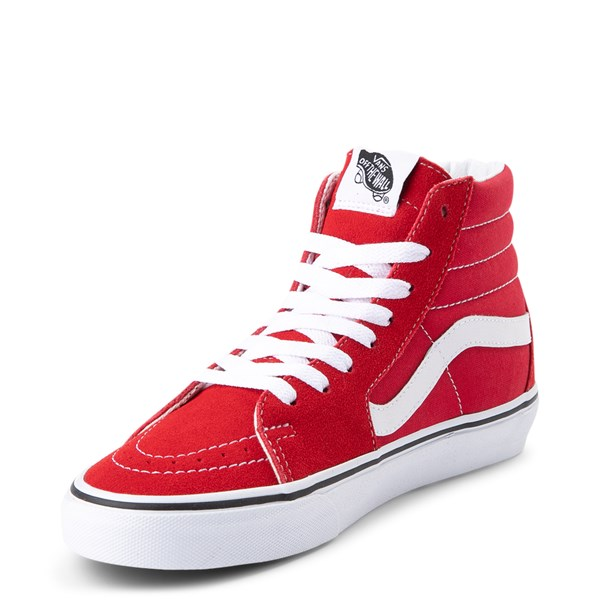alternate view Vans Sk8 Hi Skate Shoe - Racing RedALT3