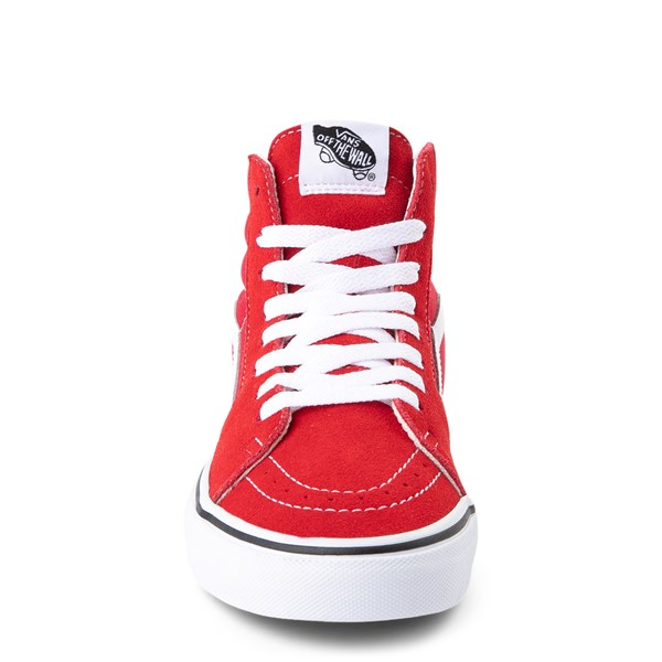 alternate view Vans Sk8 Hi Skate Shoe - Racing RedALT4