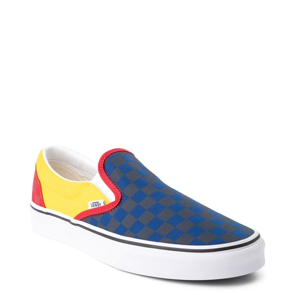 alternate view Vans Slip On OTW Rally Checkerboard Skate Shoe - MultiALT1