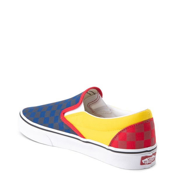 alternate view Vans Slip On OTW Rally Checkerboard Skate Shoe - MultiALT2