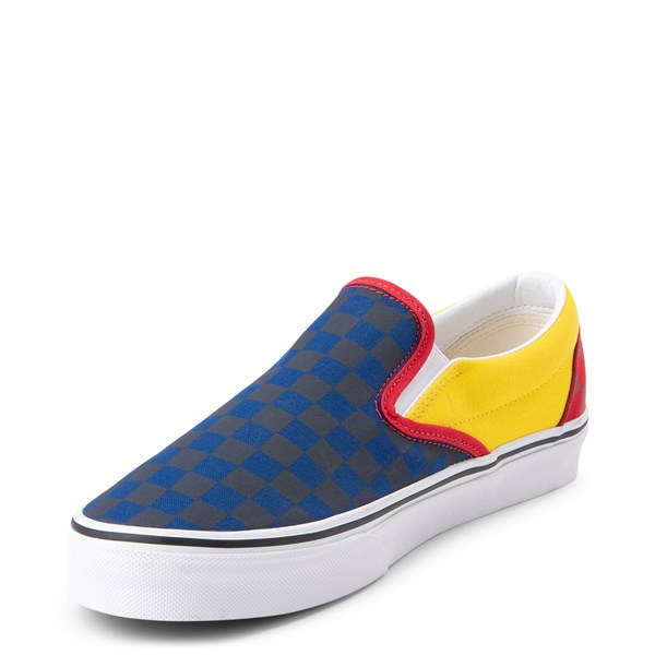 alternate view Vans Slip On OTW Rally Checkerboard Skate Shoe - MultiALT3