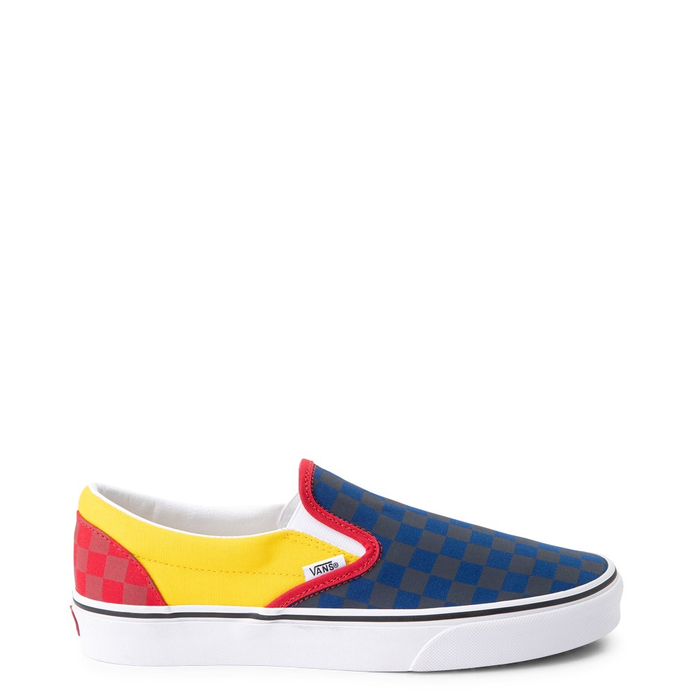 Vans Slip On OTW Rally Checkerboard Skate Shoe - Multi