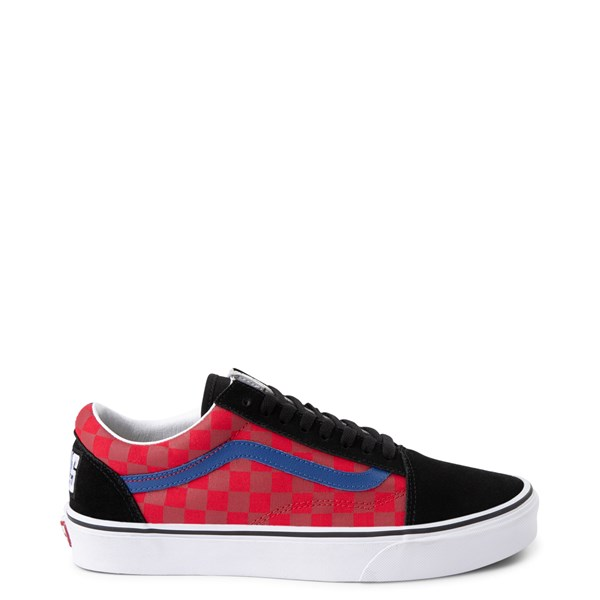 Main view of Vans Old Skool OTW Rally Checkerboard Skate Shoe - Black