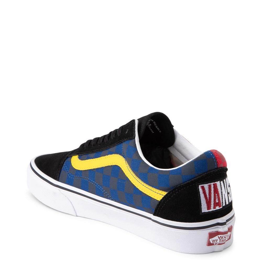 Vans Old Skool OTW Rally Checkerboard Skate Shoe Black