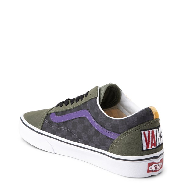 alternate view Vans Old Skool OTW Rally Checkerboard Skate Shoe - MultiALT2