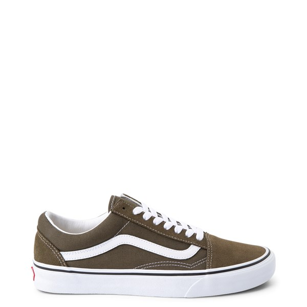 Default view of Vans Old Skool Skate Shoe - Beech Green