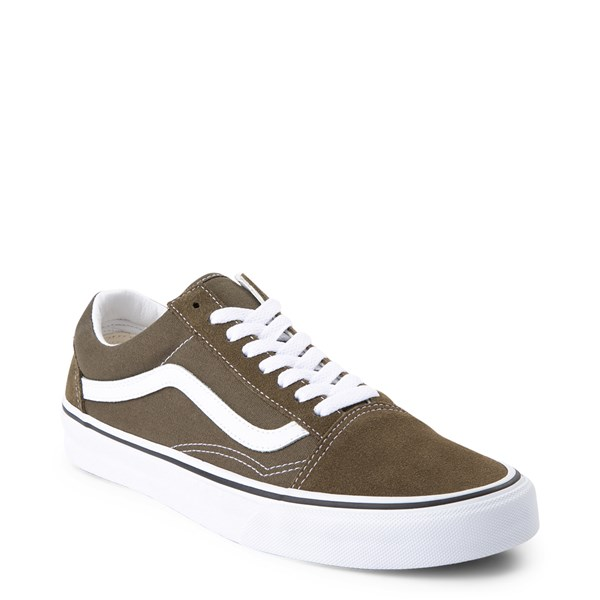 alternate view Vans Old Skool Skate Shoe - Beech GreenALT1