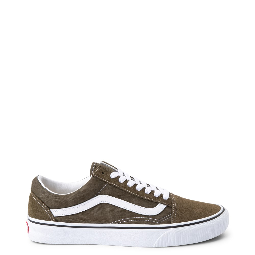 Vans Old Skool Skate Shoe - Beech Green