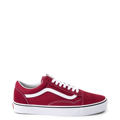 Main view of Vans Old Skool Skate Shoe - Rumba Red