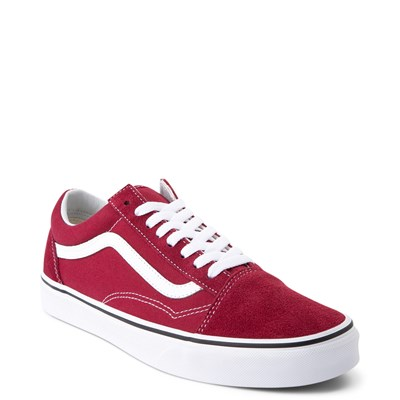 Alternate view of Vans Old Skool Skate Shoe - Rumba Red