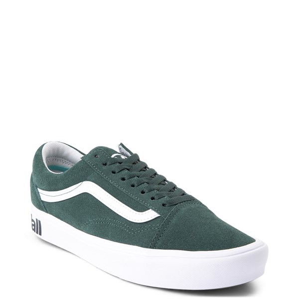 alternate view Vans Old Skool ComfyCush® Distort Skate Shoe - Trek GreenALT1