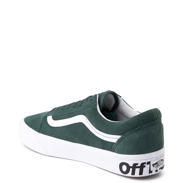 alternate view Vans Old Skool ComfyCush® Distort Skate Shoe - Trek GreenALT2