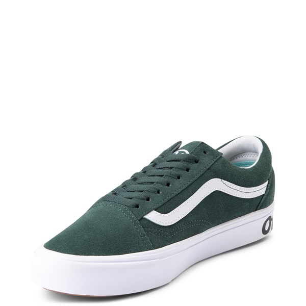 alternate view Vans Old Skool ComfyCush® Distort Skate Shoe - Trek GreenALT3